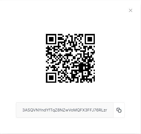 Bitcoin-QR of Photo archive Tenckhoff