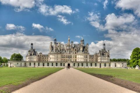 Castle Chambord on the Loire