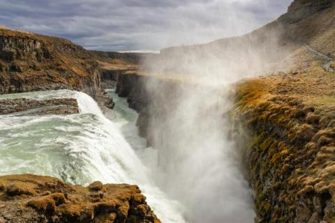 The Gullfoss - Gold Waterfall