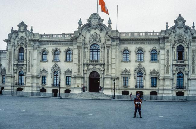 The government palace in Lima