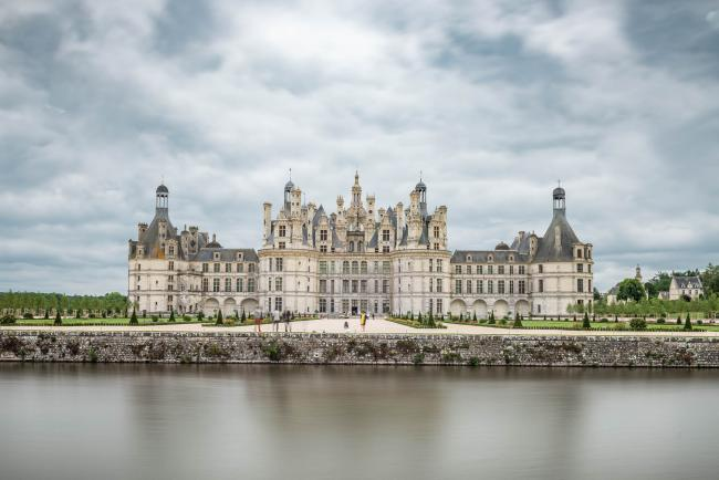 Castle Chambord on the Loire: 2017