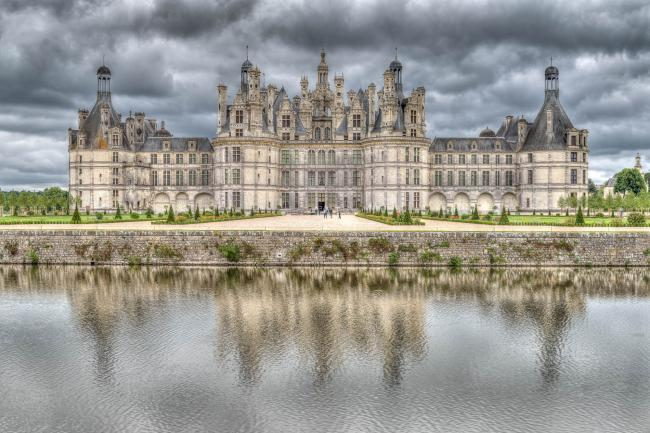 Chambord Castle composed as HDR-picture