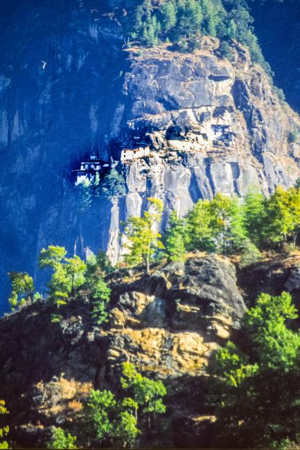 The Tiger's Nest Monastery in the Paro Valley