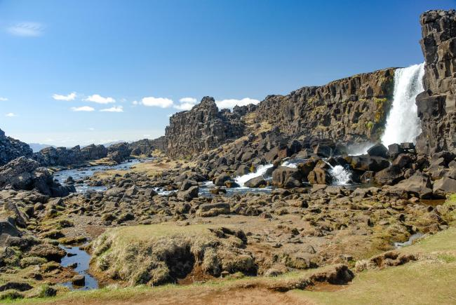 Thingvellir - Council Assembly Square in Iceland